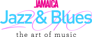 JAMAICA Jazz & Blues AOM Wording on white