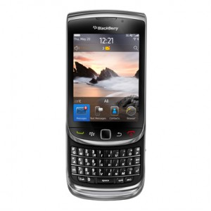 RIM-BlackBerry Torch-9800-General-Front-Open