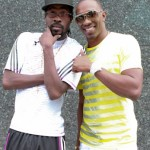 Beenie Man and Dwayne Bravo