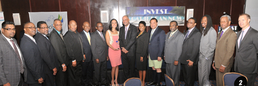 Ministers of Govts With Hard Beat CEO FeliciaPersaud, r, and Panelist LisaLake at l. (Sharon Bennett image)