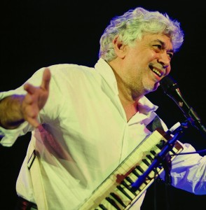 Jamaican-born, jazz great, Monty Alexander. (Photo credit: A. Nahigian)