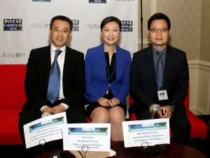 The Chinese panel at the 2013 Avalon Invest Caribbean Now forum on June 5 in NYC. (Hayden Roger Celestin image)