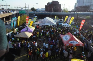 Thousands of nationals from the Diaspora gather annually at the Penn Relays in Philadelphia.
