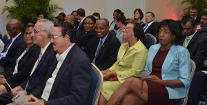 Attendees at the Caribbean Association of Banks (CAB) 41st Conference and Annual General Meeting held in Grenada from November 12-15, 2014. (CAB image)