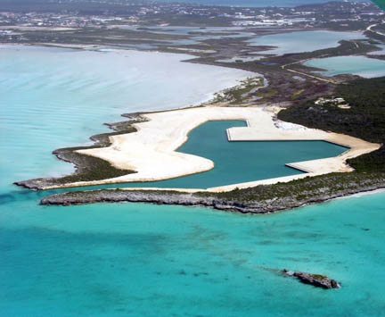 Cooper Jack Marina in the Turks and Caicos Islands.