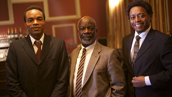 HERO features a host of celebrated British actors including Joseph Marcell of Fresh Prince of Bel Air fame, playing the role of writer CLR James; Fraser James, of Terminator Salvation, playing the role of George Padmore and British-Nigerian actor Jimmy Akingbola, of BBC's Holby, playing Ghana's first president Kwame Nkrumah.