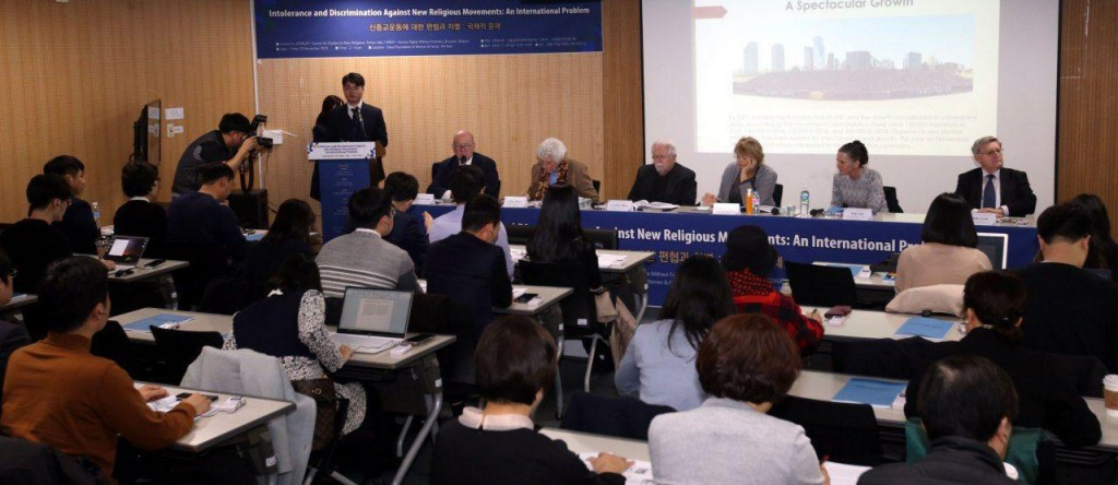 Center for Studies on New Religions (CESNUR) from Italy and Human Rights Without Frontiers (HRWF) from Belgium hosted the seminar